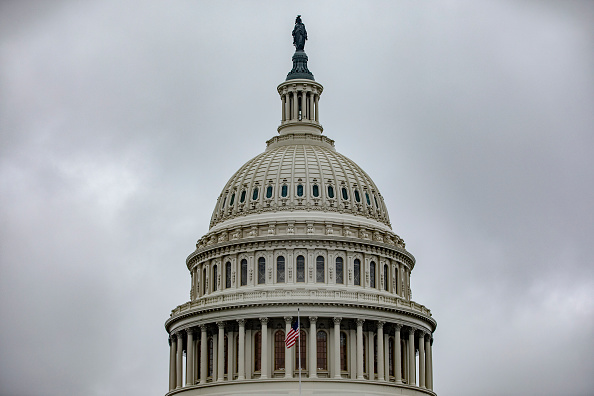 Overcast「Capitol Hill Prepares Ahead Of Full House Vote On Impeachment Articles This Week」:写真・画像(6)[壁紙.com]