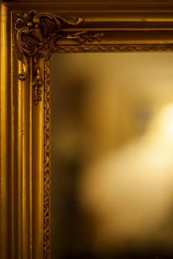 Mirror - Object「Golden mirror frame」:スマホ壁紙(7)