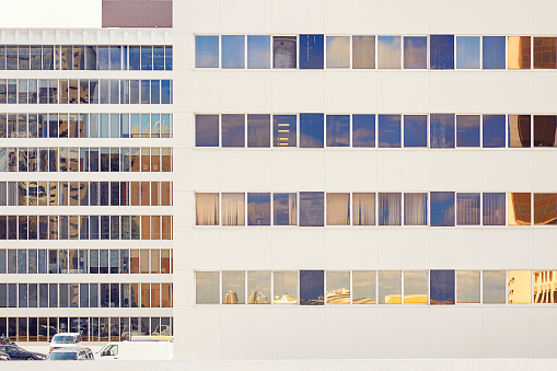 City Street「Graphic composition of urban buildings.」:スマホ壁紙(13)
