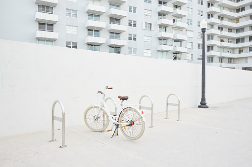 Miami「Bike parked at Miami Beach」:スマホ壁紙(14)