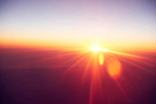 Orange Color「Abstract sunrise」:スマホ壁紙(3)