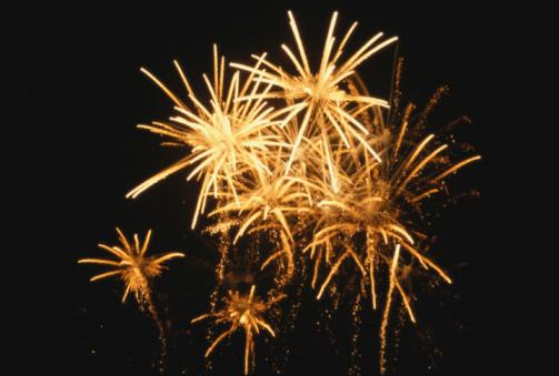 Firework Display「Fireworks, night, low angle view」:スマホ壁紙(14)