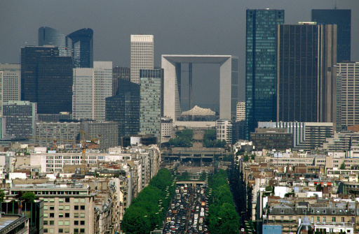 Boulevard「Arch de la defense , Paris , France」:スマホ壁紙(11)