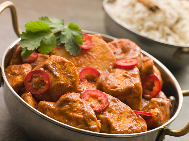 Chicken Chili Tikka Masala with Fragrant Basmati Rice:スマホ壁紙(壁紙.com)