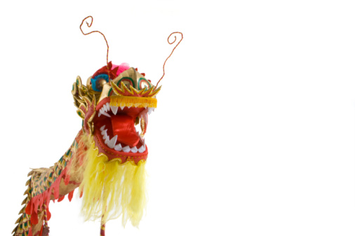 Chinese New Year「Chinese traditional lion dancing」:スマホ壁紙(18)