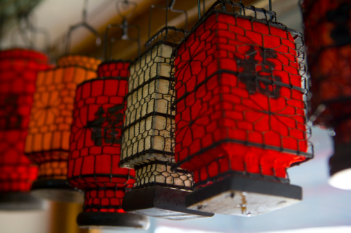 Chinese Lantern「Chinese Tradition Paper Lanterns」:スマホ壁紙(12)