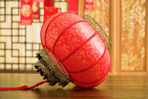 Chinese Lantern「Chinese traditional red lantern」:スマホ壁紙(1)