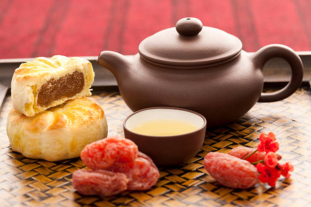 Chinese traditional preserved fruit and tea:スマホ壁紙(壁紙.com)