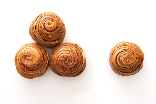 Dim Sum「Chinese traditional dim sum snail-shaped bun」:スマホ壁紙(17)