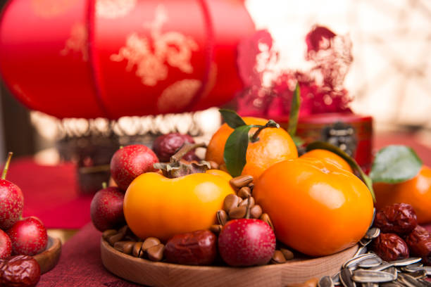 Chinese traditional items for Chinese New Year:スマホ壁紙(壁紙.com)