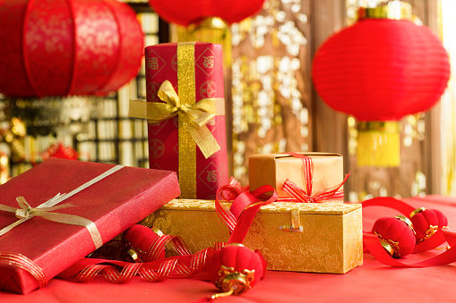 Lunar New Year;「Chinese traditional items for Chinese New Year」:スマホ壁紙(5)