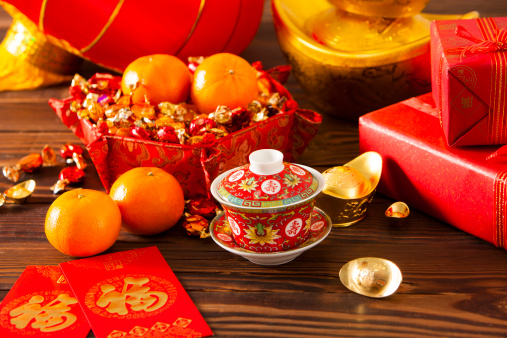春節「Chinese traditional items for Chinese New Year」:スマホ壁紙(12)