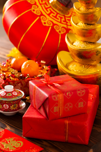 Chinese Lantern Festival「Chinese traditional items for Chinese New Year」:スマホ壁紙(13)