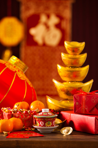 Chinese Lantern「Chinese traditional items for Chinese New Year」:スマホ壁紙(13)