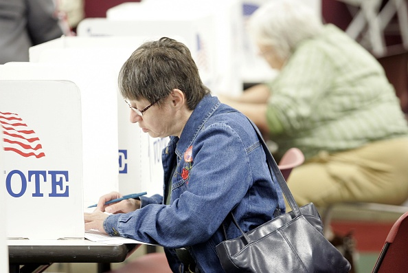 オハイオ州「Ohio Citizens Start To Vote During Early Voting In Presidential Election」:写真・画像(13)[壁紙.com]