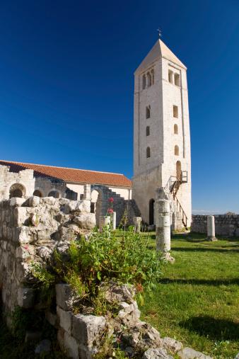 Preacher「Belltower of the ruined Basilica of St John the Evangelist (Bazilika svetog Ivana Evandeliste).」:スマホ壁紙(10)