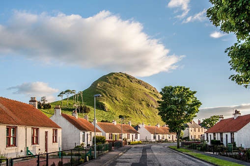 East Lothian「The North Berwick Law」:スマホ壁紙(2)