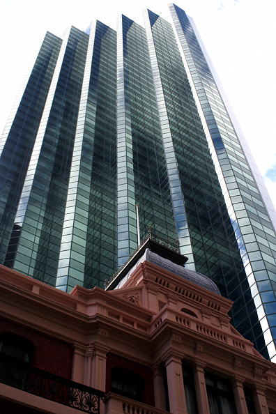 New「Office Skyscrapers along St Georges Terrace, Perth CBD, Western Australia」:写真・画像(5)[壁紙.com]