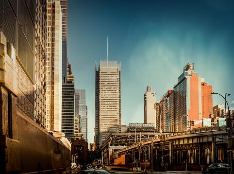 Boulevard「Office skysraper in New York City」:スマホ壁紙(3)