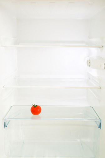 Problems「Tomato in fridge」:スマホ壁紙(12)