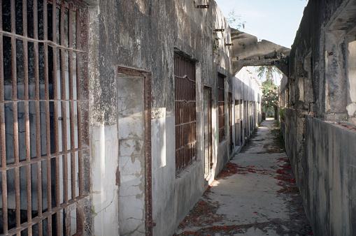 Northern Mariana Islands「Ruined Prison in Saipan」:スマホ壁紙(0)