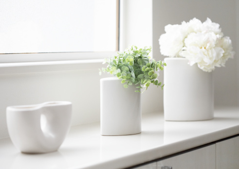 Surrounding「Plant by the window」:スマホ壁紙(11)