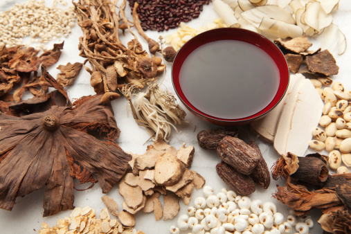 Fungus「Display of Chinese Herbal Medicine Ingredients and the Tonic Hz」:スマホ壁紙(10)