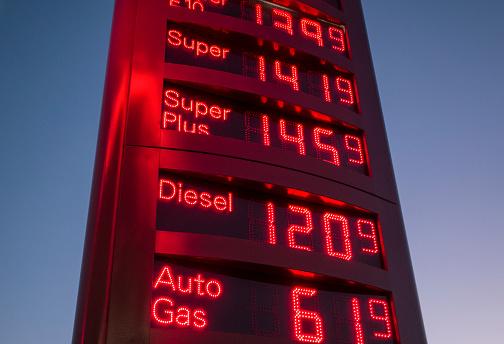 Oil Industry「Display of fuel prices」:スマホ壁紙(10)