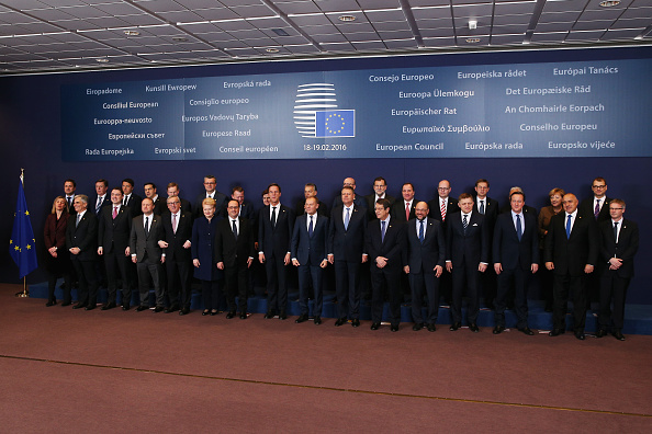 Slovenia「European Leaders Gather In Brussels For EU Crunch Summit」:写真・画像(18)[壁紙.com]