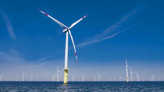 Wind Turbine「Offshore wind farm」:スマホ壁紙(12)