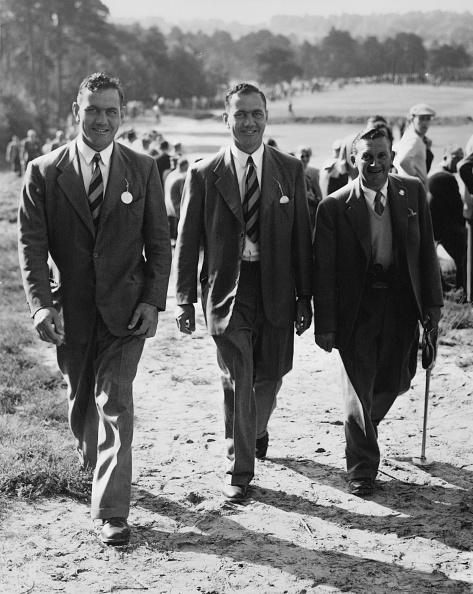 ゴルフ「Arthur Lees And The Bedser Twins」:写真・画像(12)[壁紙.com]