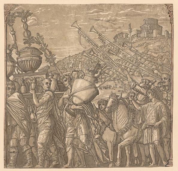 Vase「The Triumph Of Julius Caesar: Soldiers Carrying Vases」:写真・画像(17)[壁紙.com]