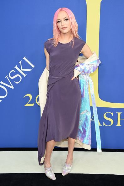 Pink Hair「2018 CFDA Fashion Awards - Arrivals」:写真・画像(12)[壁紙.com]