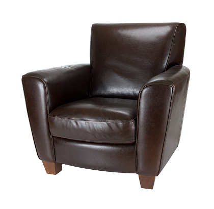 Armchair「Classic dark brown leather armchair photograph advertisement」:スマホ壁紙(13)