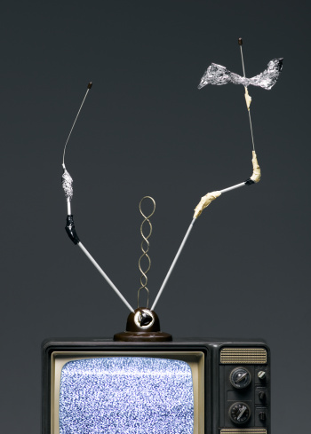 Antenna - Aerial「Rabbit Ears Antenna Bent and Taped」:スマホ壁紙(8)