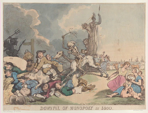 Loaf of Bread「Downfall Of Monopoly In 1800」:写真・画像(16)[壁紙.com]