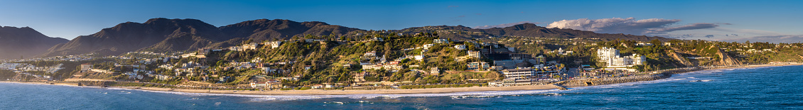 California State Route 1「Aerial Panorama of Malibu from Over the Ocean」:スマホ壁紙(0)