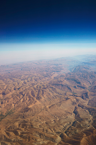 Iran「aerial panoramic view at mountain range from airplane above afghanistan」:スマホ壁紙(5)