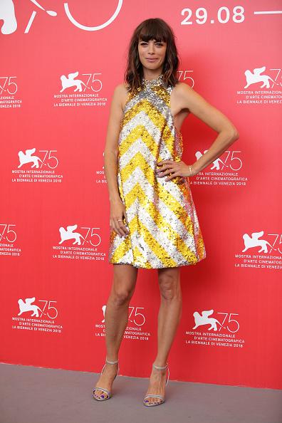 Sequin Dress「La Quietud Photocall - 75th Venice Film Festival」:写真・画像(4)[壁紙.com]