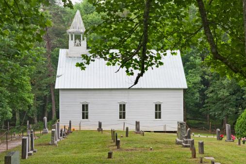 Cades Cove「Country church with graveyard」:スマホ壁紙(15)