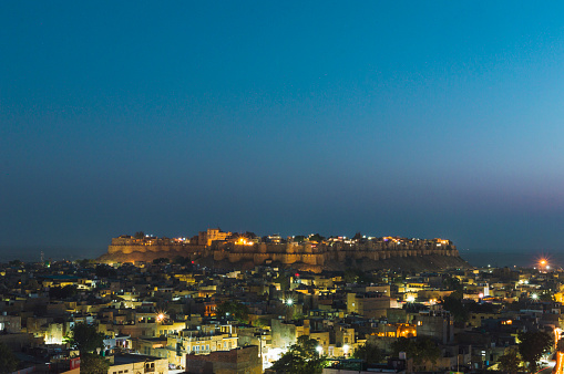 Rajasthan「Jaisalmer Fort and city view」:スマホ壁紙(4)