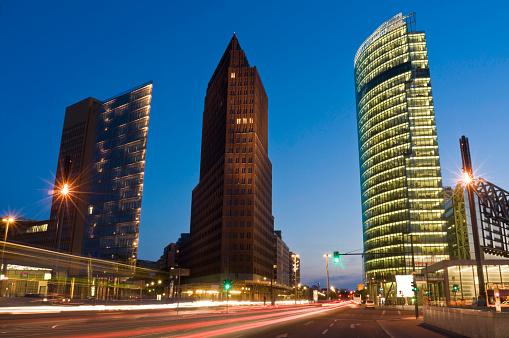 Boulevard「Berlin Potsdamer Platz」:スマホ壁紙(5)
