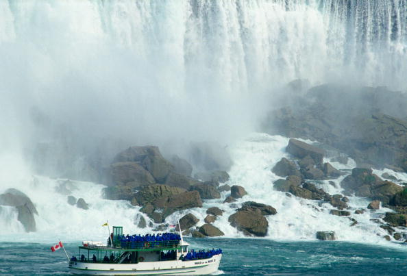 Spray「Maid of the Mist Tourist Boat, Niagara Falls, Canada」:写真・画像(19)[壁紙.com]