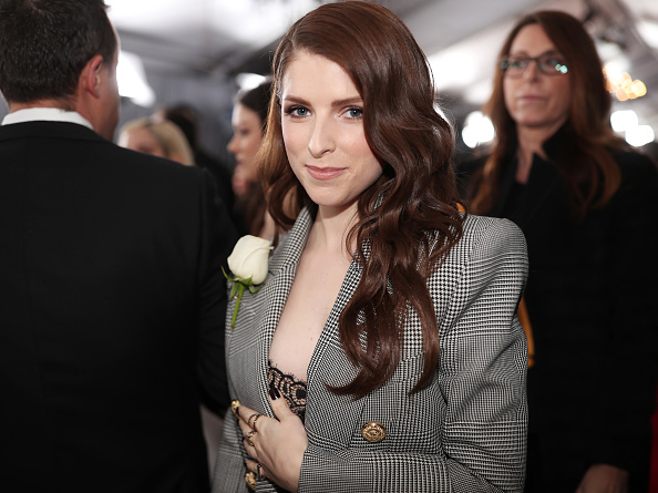Anna Kendrick「60th Annual GRAMMY Awards - Red Carpet」:写真・画像(5)[壁紙.com]
