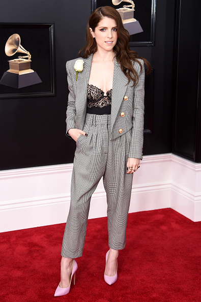 Anna Kendrick「60th Annual GRAMMY Awards - Red Carpet」:写真・画像(3)[壁紙.com]