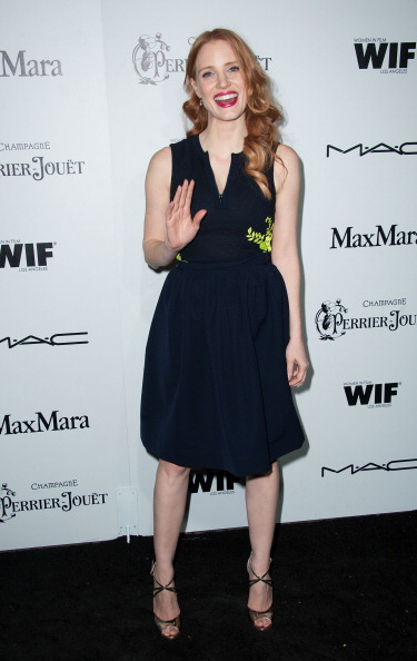 Metallic Shoe「Women In Film's 6th Annual Pre-Oscar Cocktail Party - Arrivals」:写真・画像(5)[壁紙.com]