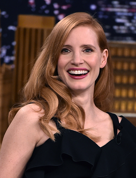 """Jessica Chastain「Jessica Chastain Visits """"The Tonight Show Starring Jimmy Fallon""""」:写真・画像(12)[壁紙.com]"""