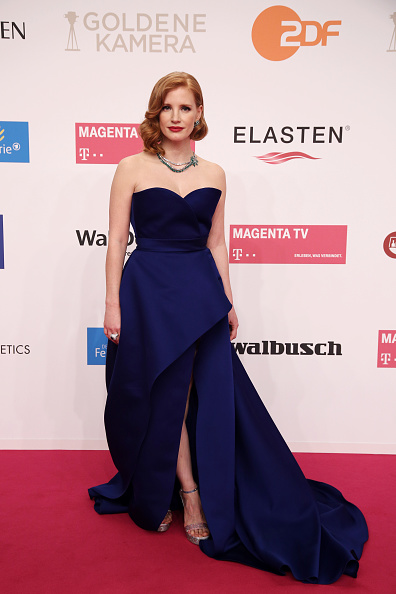 Jessica Chastain「Goldene Kamera 2019 - Red Carpet Arrivals」:写真・画像(6)[壁紙.com]