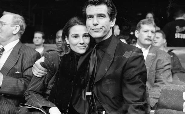 Pierce Brosnan and Keely Shaye Smith at the Point Depot:ニュース(壁紙.com)