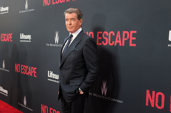 "Pierce Brosnan「The Weinstein Company Presents The Los Angeles Premiere Of ""No Escape"" In Partnership With Lifeway Foods」:写真・画像(13)[壁紙.com]"